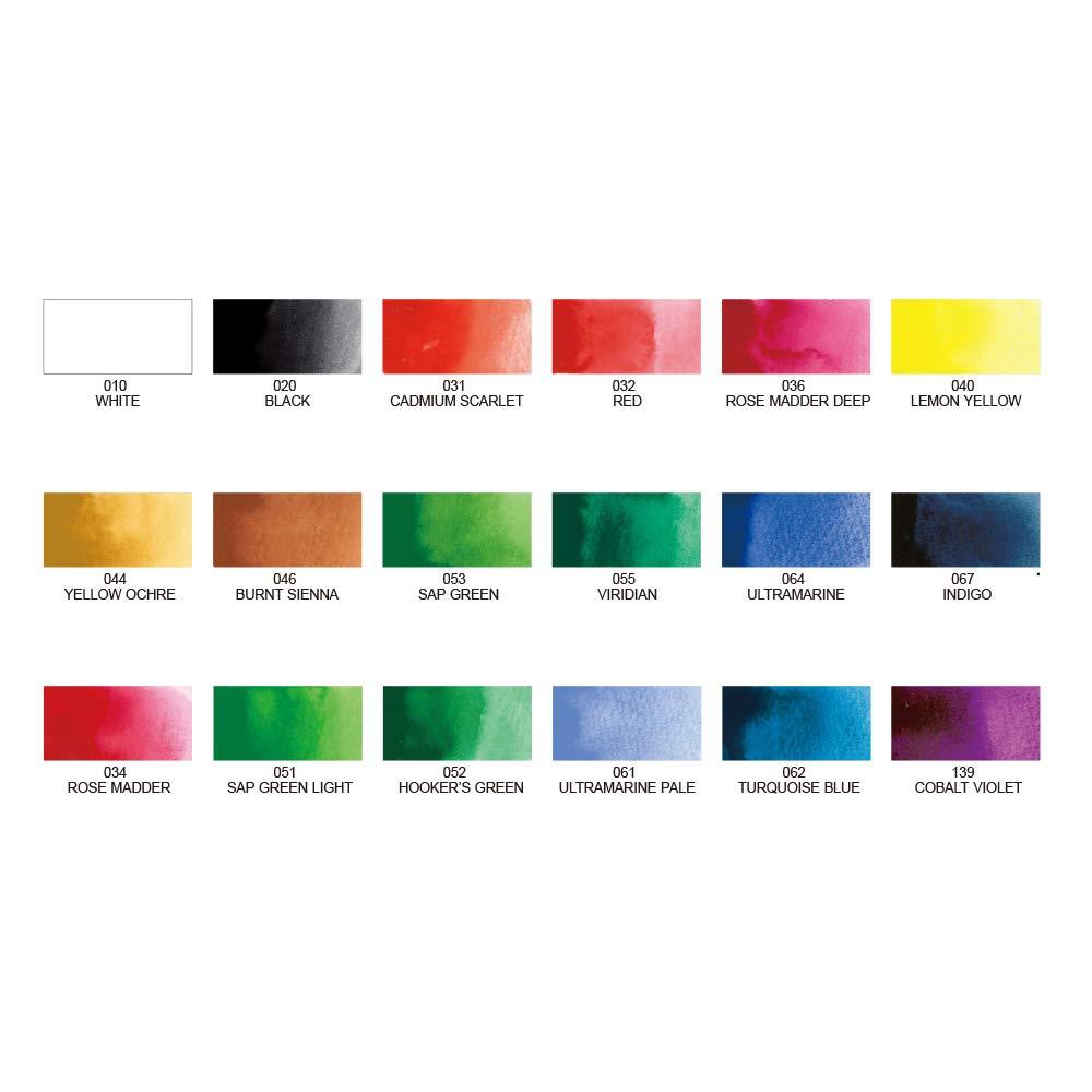 Kuretake Gansai Tambi 18 Colours Set