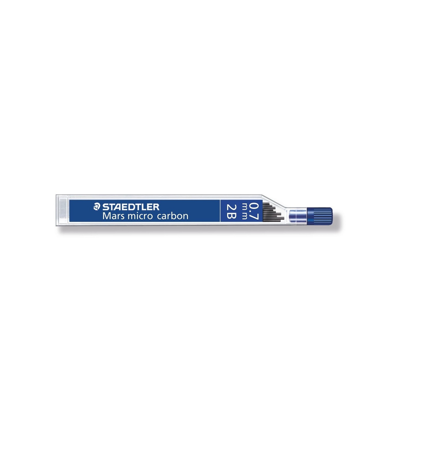 Staedtler Micro Mars Carbon Mechanical Pencil Leads 0.7 mm, 2B