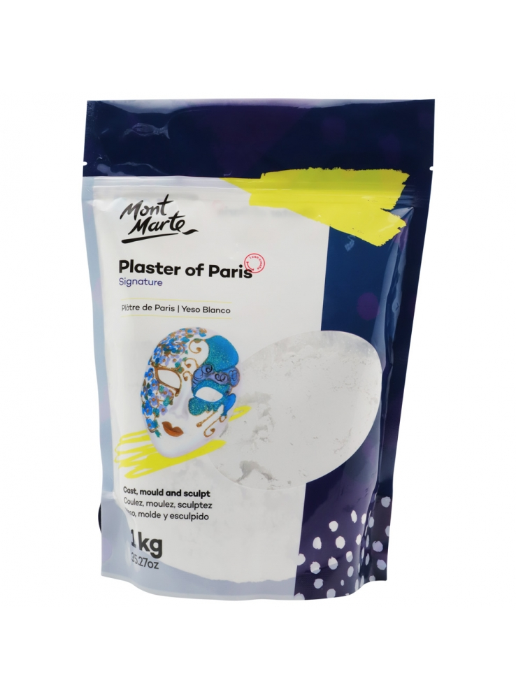 Mont Marte Plaster of Paris 1kg