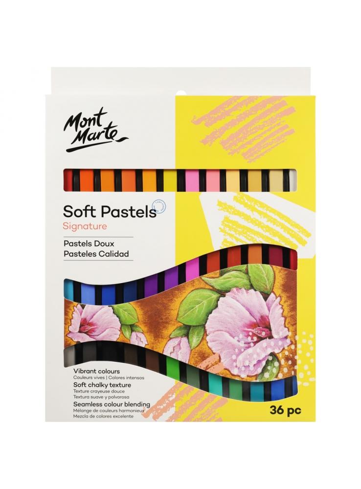 Mont Marte Signature Soft Pastels 36pce