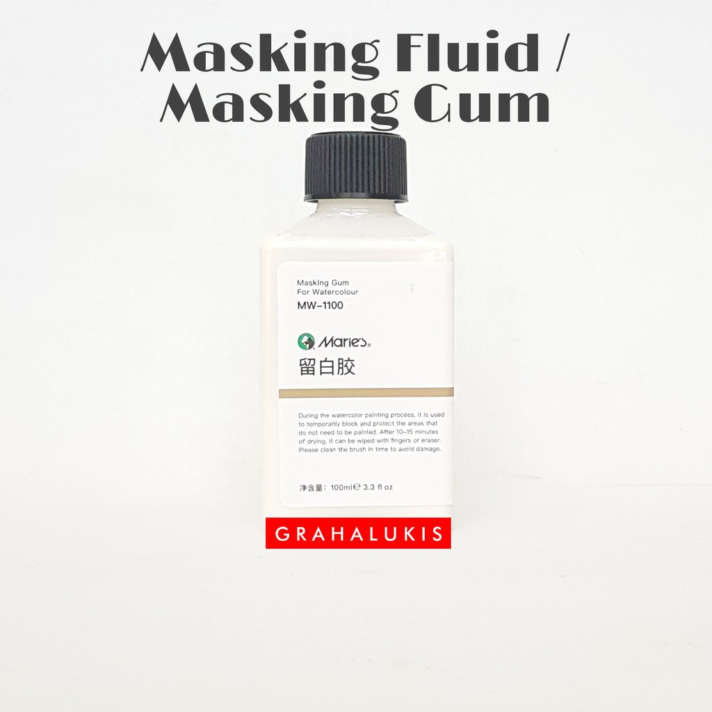 Maries Masking Fluid / Gum 100ml MW-1100