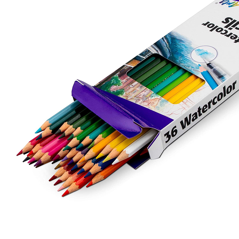 Pentel Arts Watercolor Pencil Set - Assorted Colors (Cb9-36)