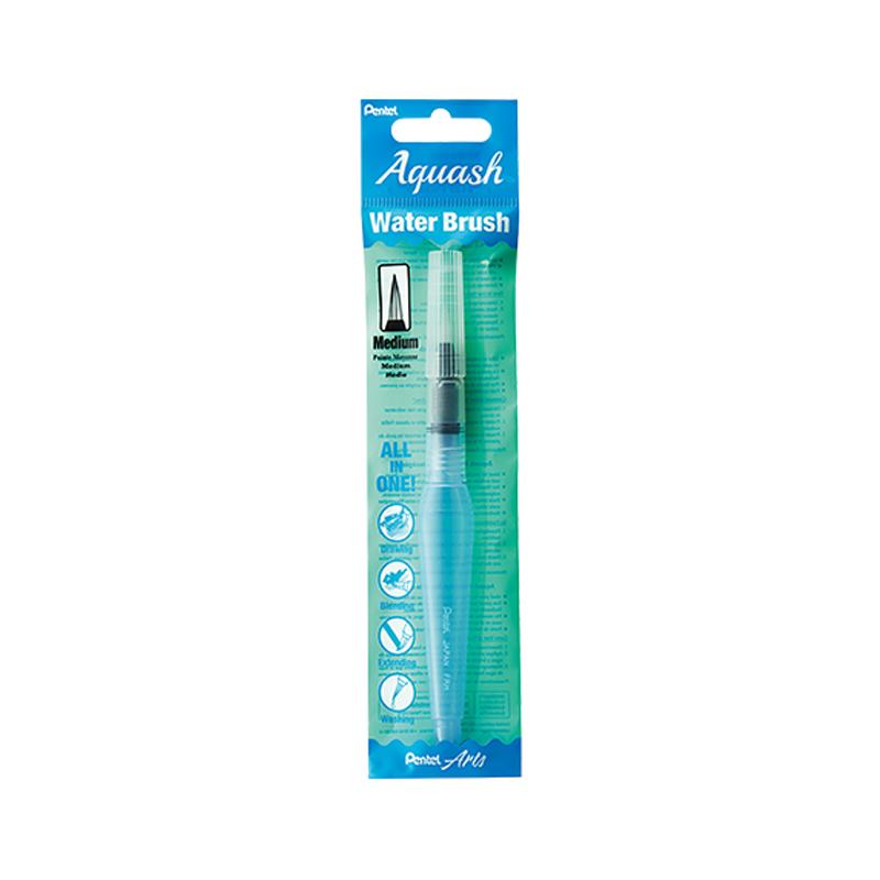 Pentel Aquash Water Brush Medium Tip XFRH-MX