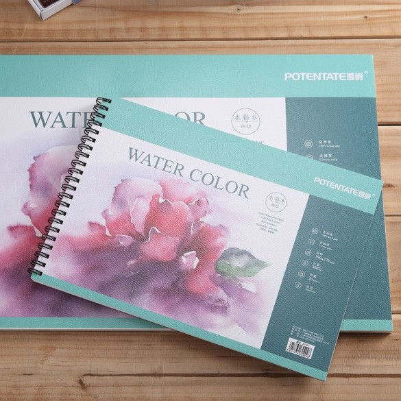 Potentate Water Color Pad A5 HP 16sheet 300gsm 020741