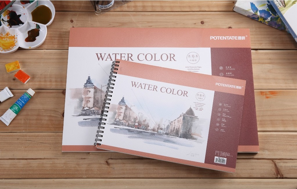 Potentate Water Color Pad A5 Cold Pressed 16sht 300gsm 020761