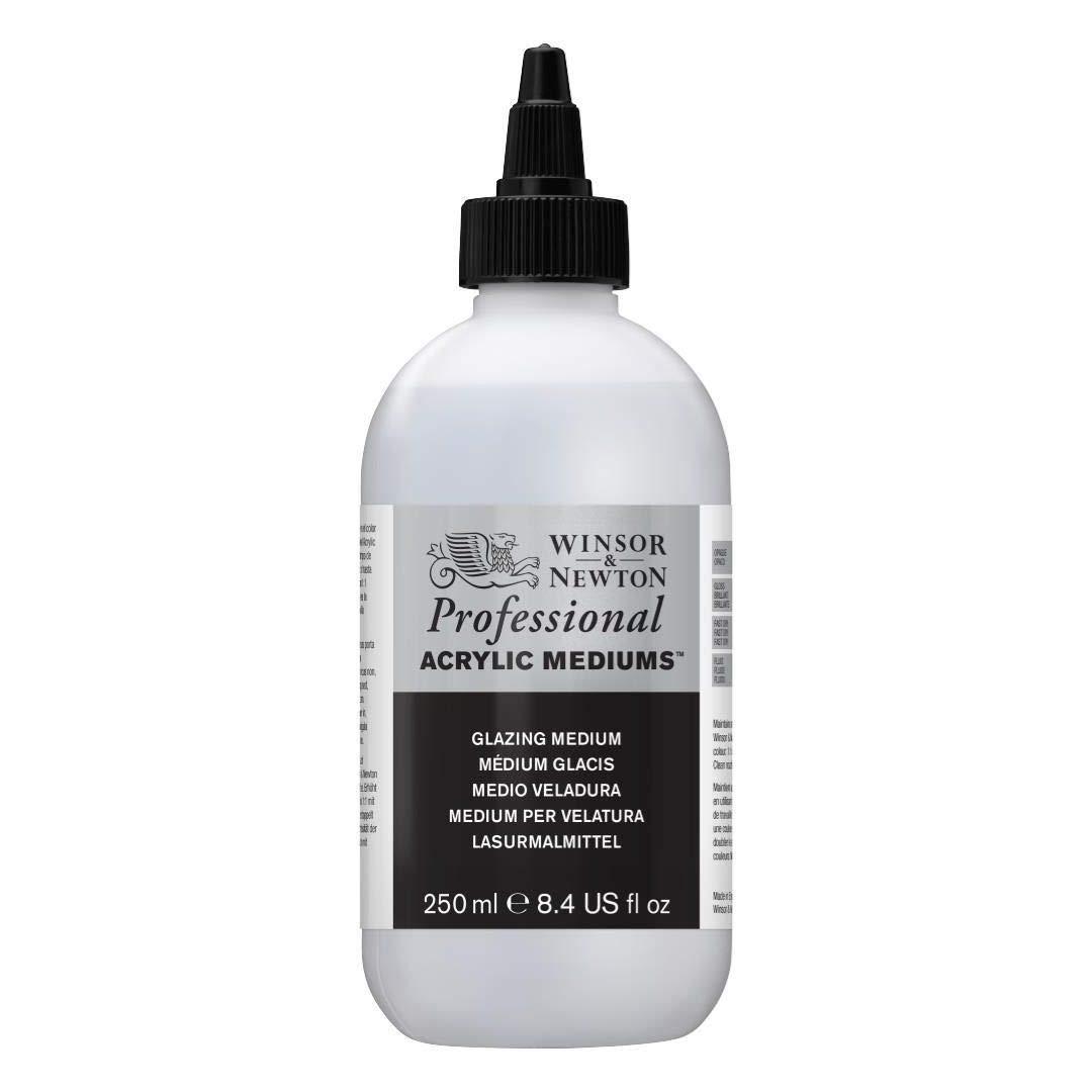 Winsor & Newton Professional Acrylic- Glazing Medium- Bottle of 250 ML