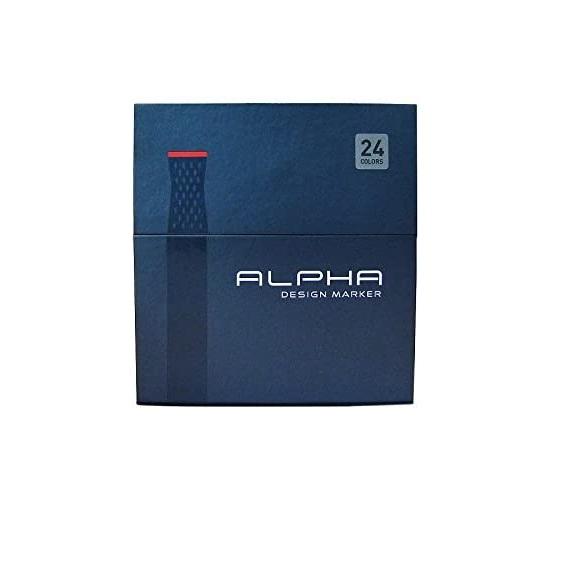 ALPHA 24 Set Box Design Marker