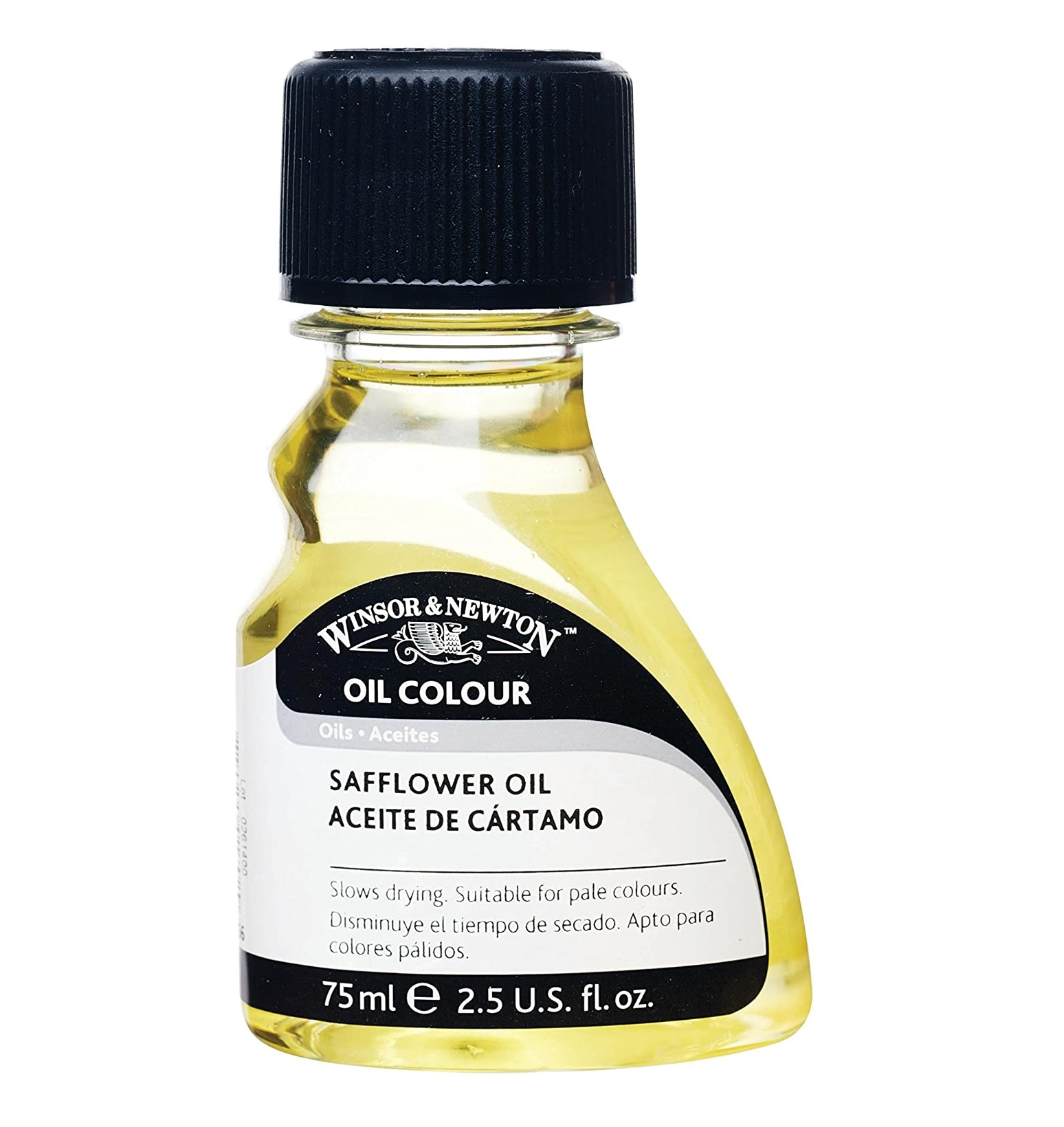 Winsor & Newton Refined Safflower Oil, 75ml