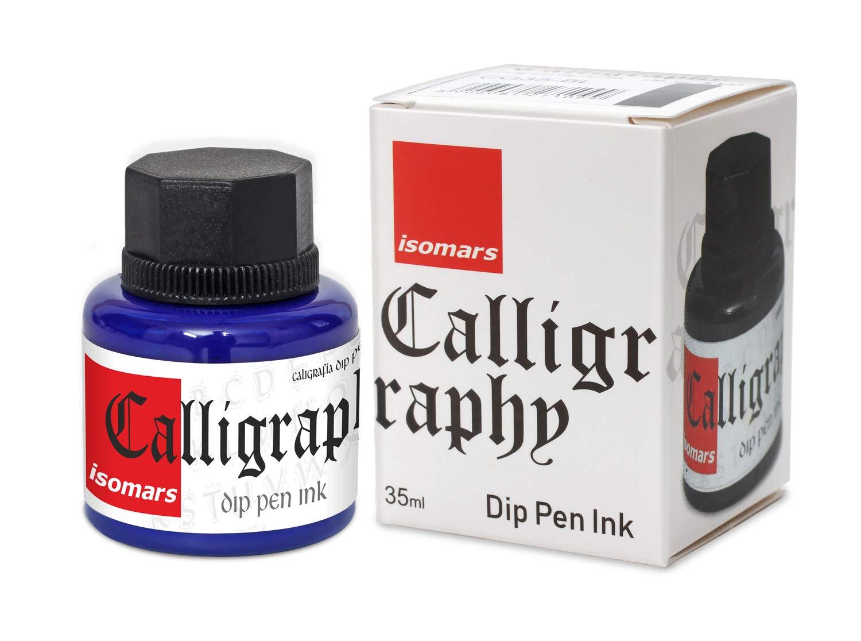 Isomars Calligraphy Dip Pen Inc. 35ml - Blue