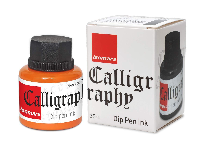 Isomars Calligraphy Ink 35ml Orange CG35-OR