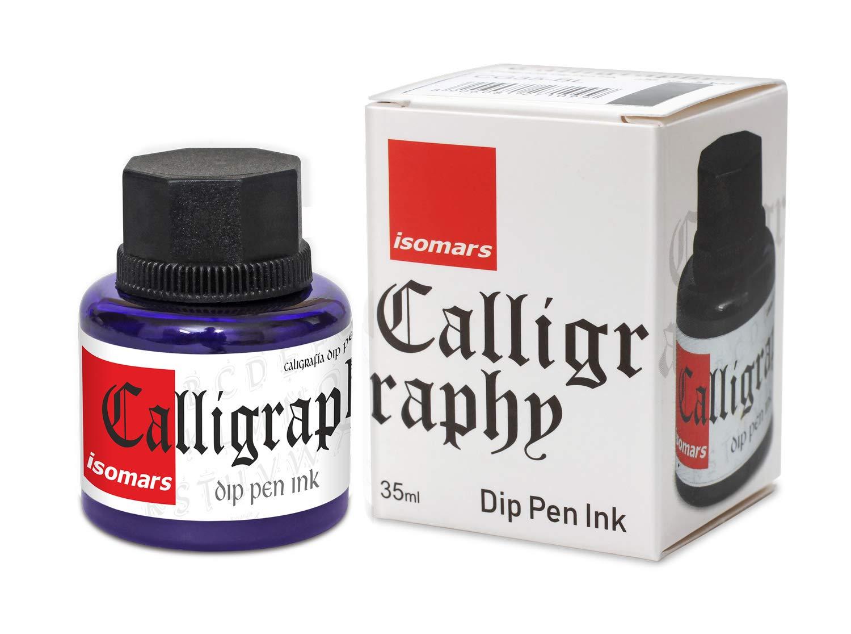 Isomars Calligraphy Dip Pen Ink 35ml - VIOLET