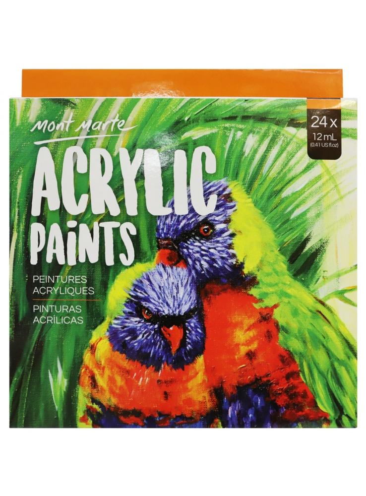 Mont Marte Acrylic Paint Set 24 Piece