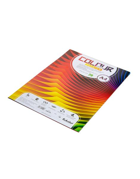 Scholar A4 COLOR PAPER LOOSE SHEETS - 120 GSM (CPLT4)