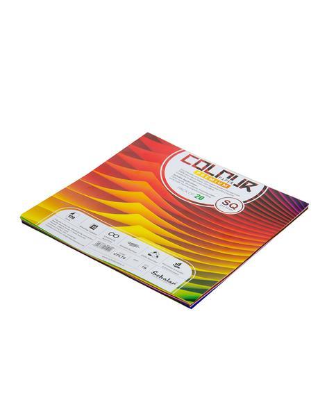 Scholar SQ COLOR PAPER LOOSE SHEETS - 120 GSM (CPLT6)