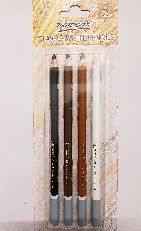 Worison Classic Pastel Pencil Set Of 4 Pc