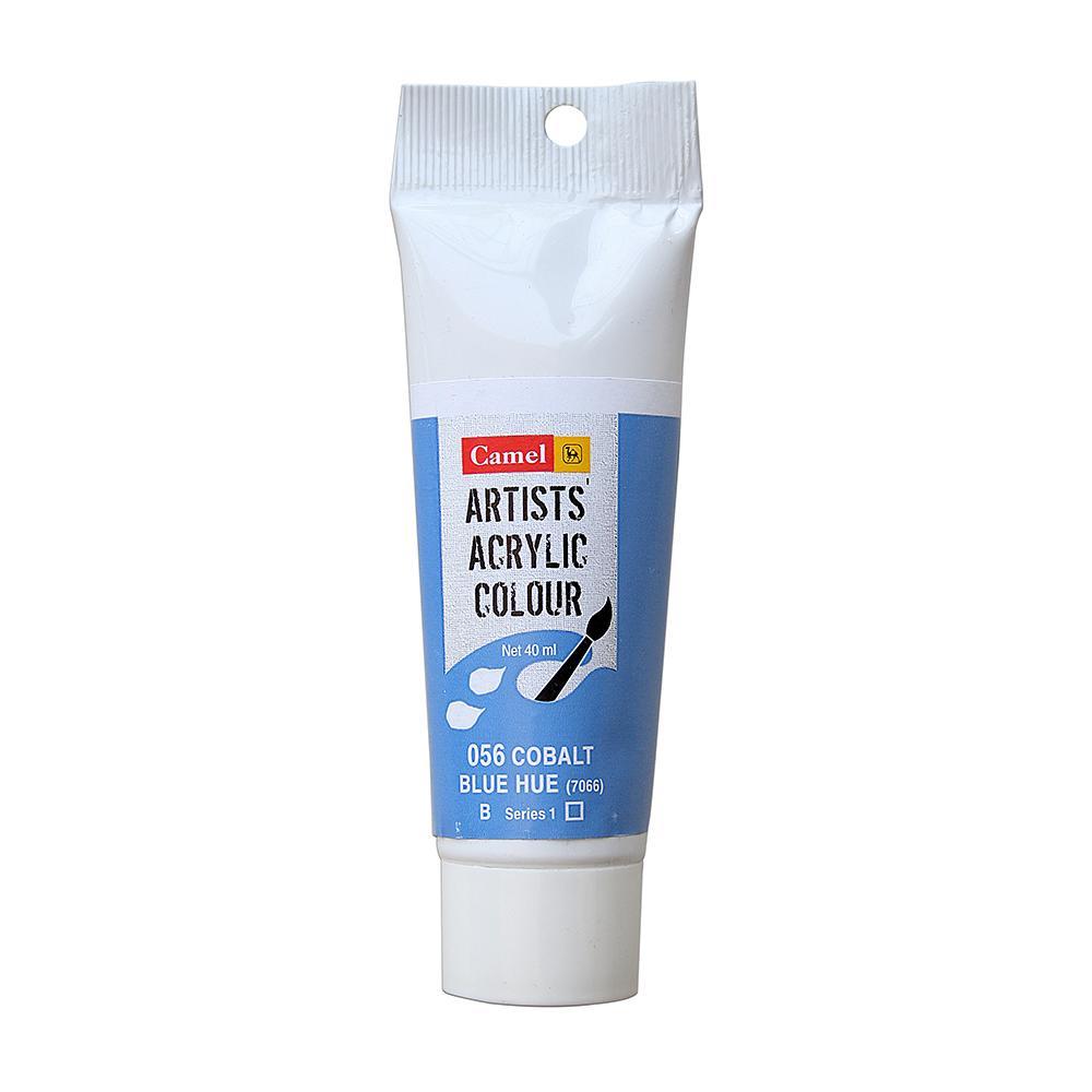Camel Artists Acrylic Colour Tubes , 40 ml -Cobalt Blue Hue 056