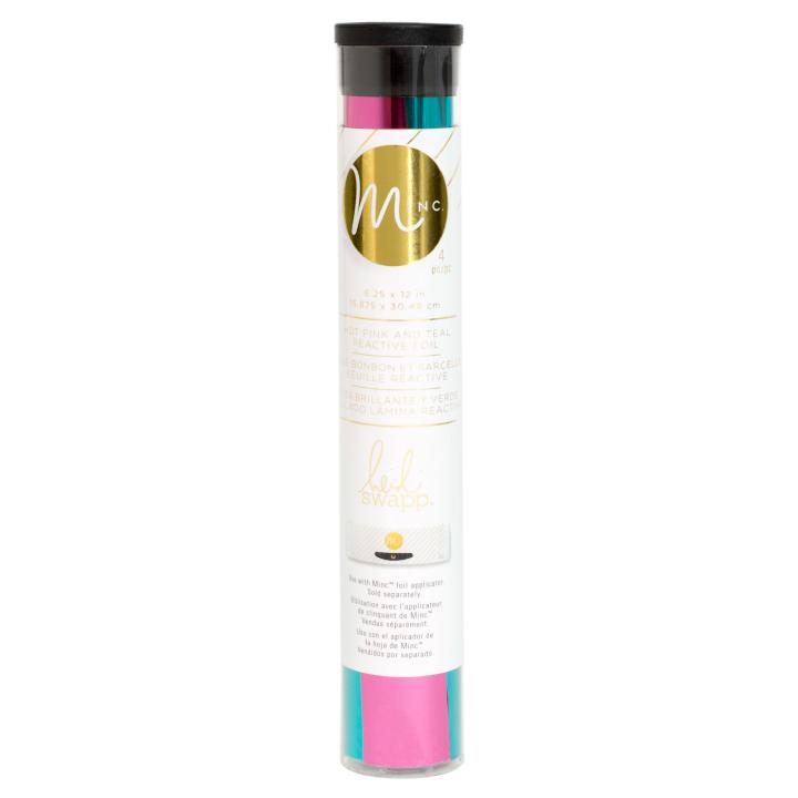 Minc Hot Pink & Teal Reactive Foil Combo Pack