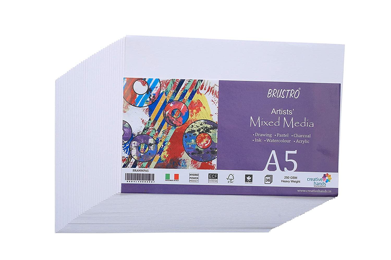 Brustro Artists Mixed Media Paper A5 36 Sheets