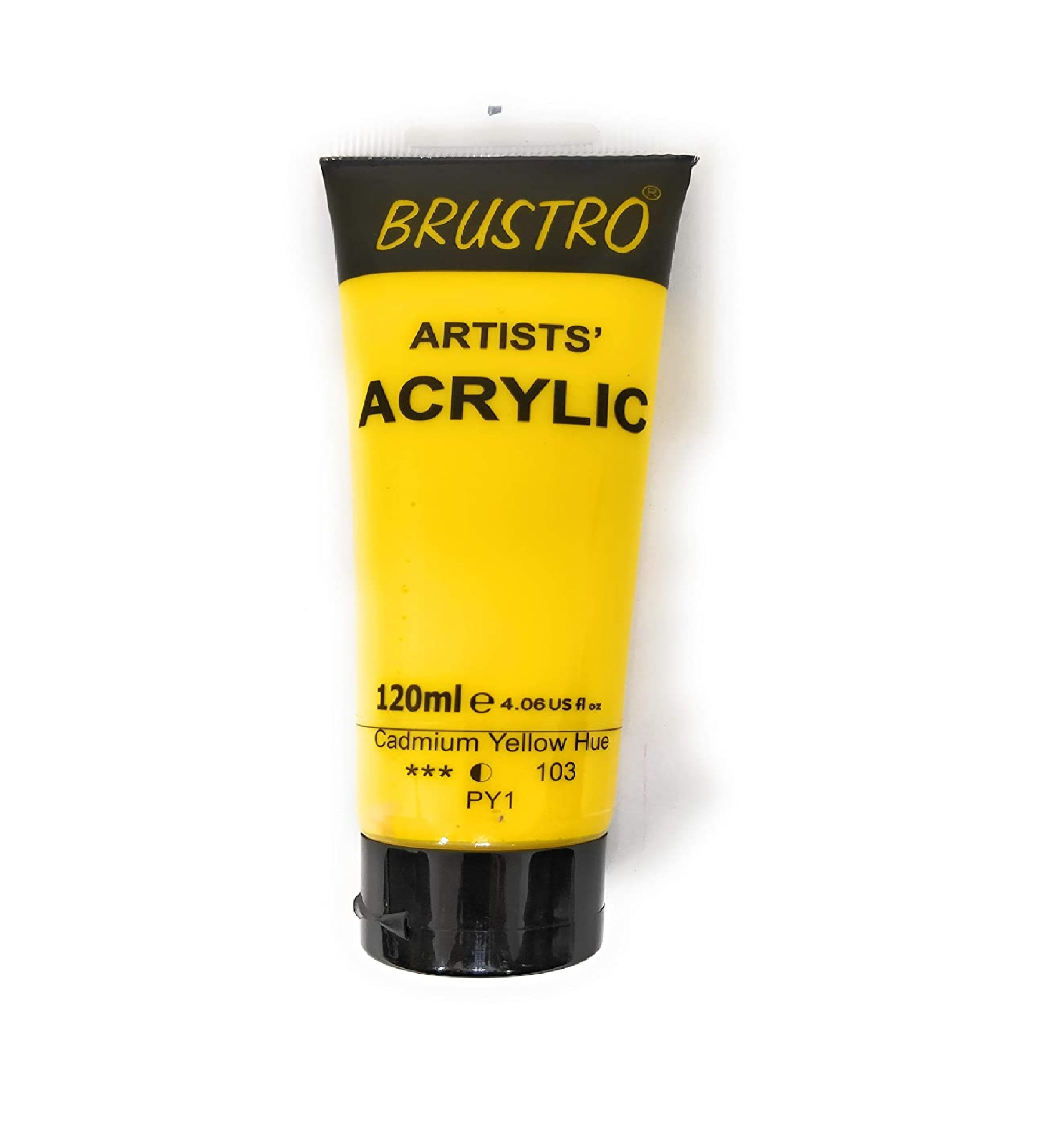 Brustro Artists Acrylic 120ml Cad Yellow Hue