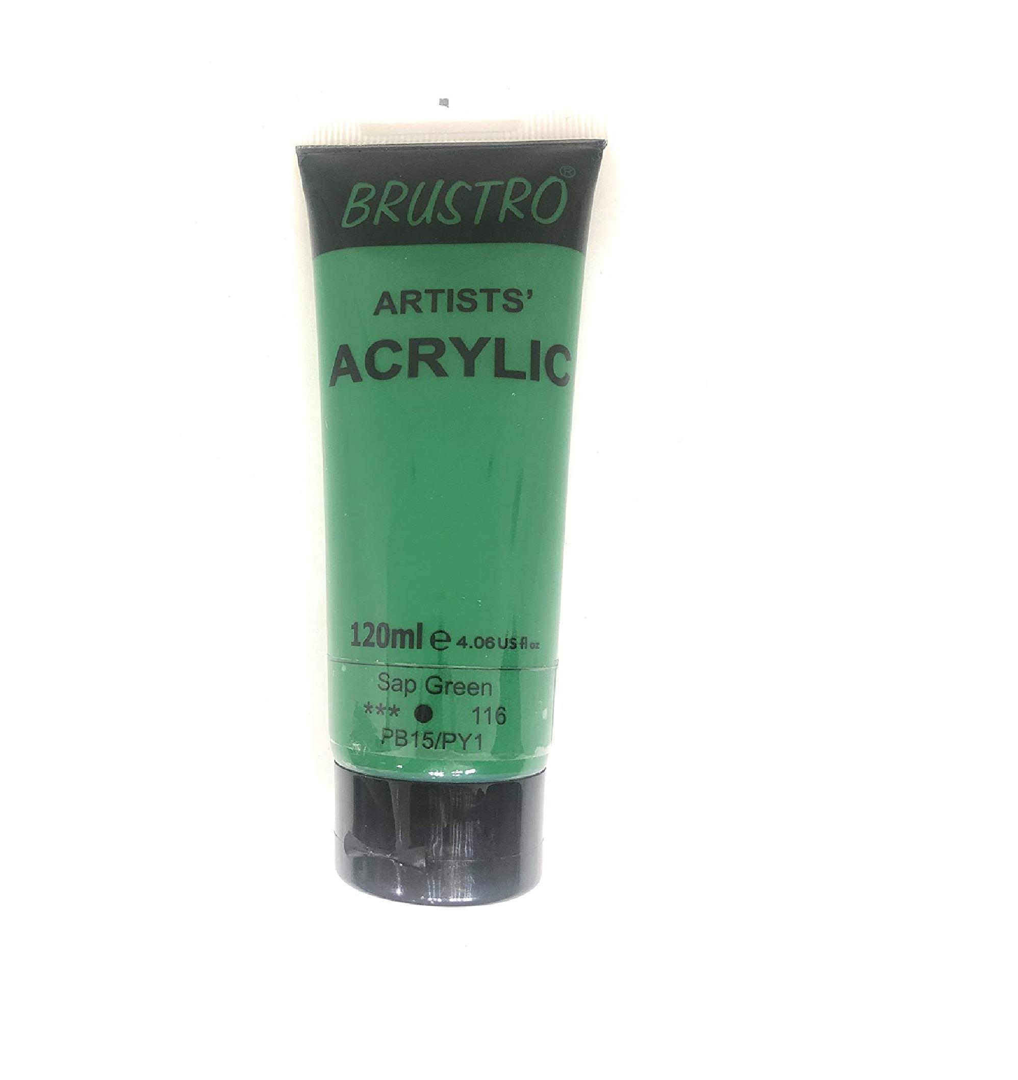 Brustro Artists Acrylic 120ml Sap Green