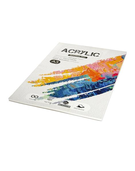 Scholar A3 ACRYLIC PAINTING PAD - 360 GSM (ACR3)