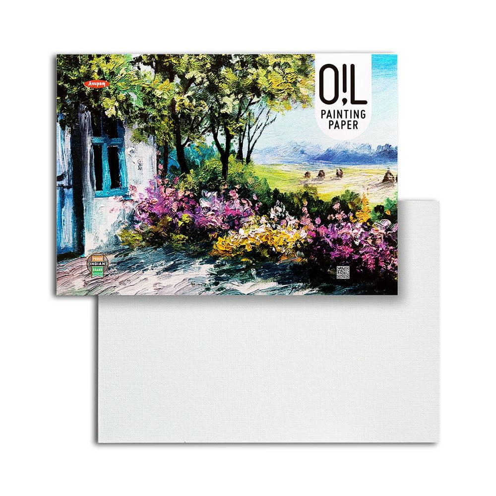 Anupam Oil Painting Paper 250 GSM A4 12 Sheet