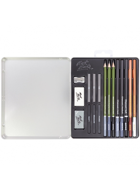Mont Marte Signature Sketch and Draw Collection Set of 17