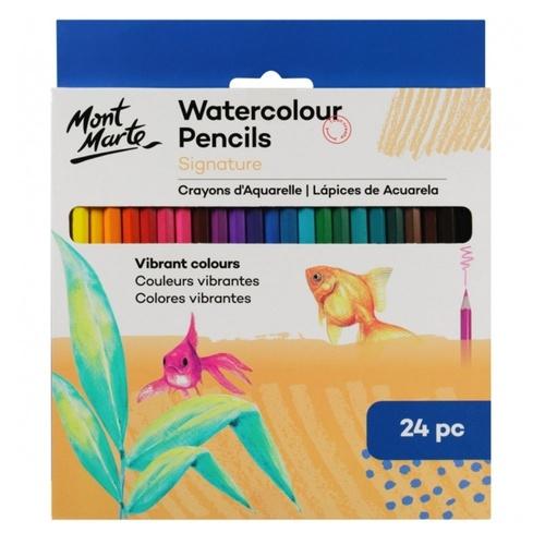 Mont Marte Watercolour Pencils 24pc