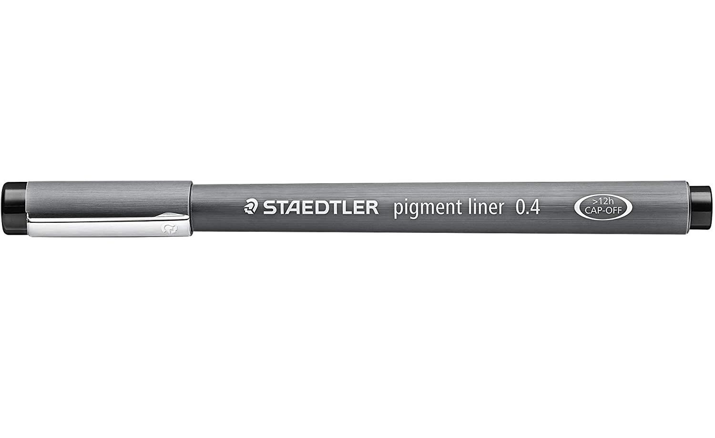 Staedtler Pigment Liner, 0.4 Mm, Black Ink